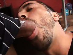 Huge cock facial