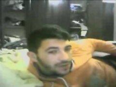 horny arab man