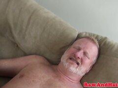 Grey wolf cock sucked by ebony bloke