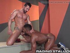 RagingStallion Jimmy Duranos Hard Cock for Ebony Hunk