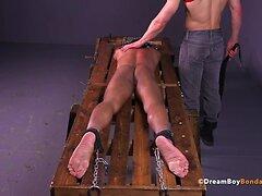 DreamBoyBondage Gay Bondage BDSM Twink Whipping Spanking