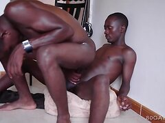 Black Africans Brian and Peter Bareback