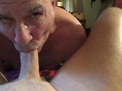 I luv sucking Stevens cock balls and cum