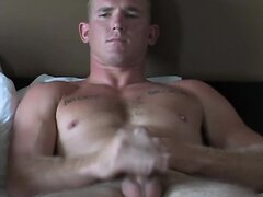 Army Stud Wanks and Cums