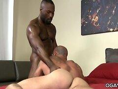 Noah rims Sean's ass while Sean sucks his cock