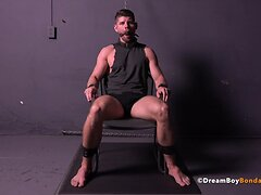 Connor Halsted Muscle BDSM Gay Bondage Blowjob Face Fuck