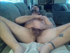 dad wanking with poppers